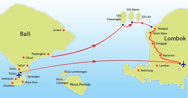 bali to gili meno gili island fastboats