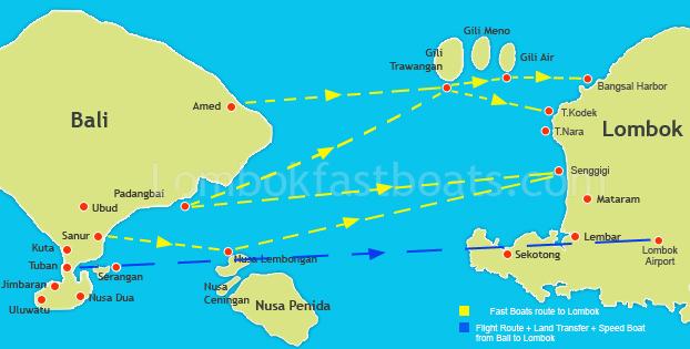 Bali To Lombok Gili Island Fastboats