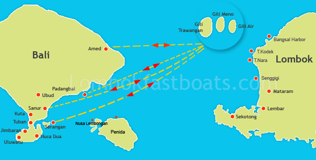 Bali To The Gili Islands Gili Island Fastboats